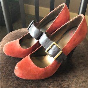 Burnt Orange / Brown Heels